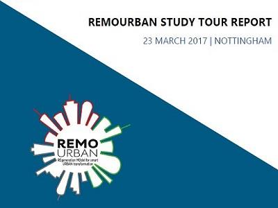 Final report about REMOURBAN Study Tour