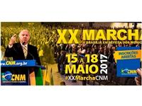 EU cities delegation at the XX Marcha to Brasilia