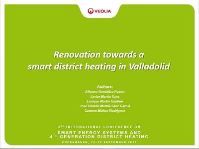 Renovation towards a smart district heating in Valladolid