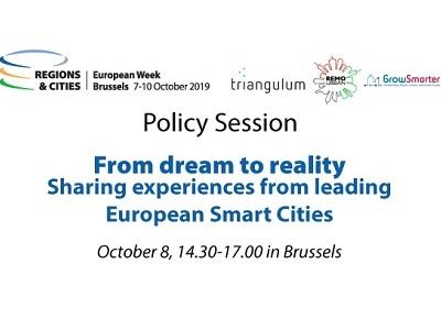 The first three smart city projects share results in Brussels – sign up now
