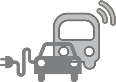 Public charging infrastructure for private vehicles