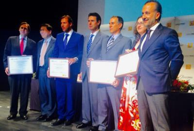 "Valladolid City Council has been awarded for the ""Best Public Strategy for Sustainable Mobility 2015"""